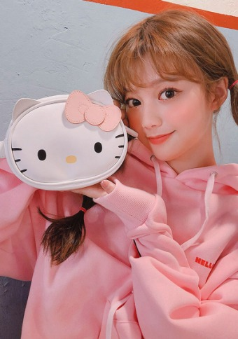 Hello Kitty X Chuu lovely Fanny pack
